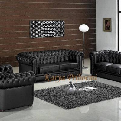 Kursi Tamu Sofa Bungkus Mewah