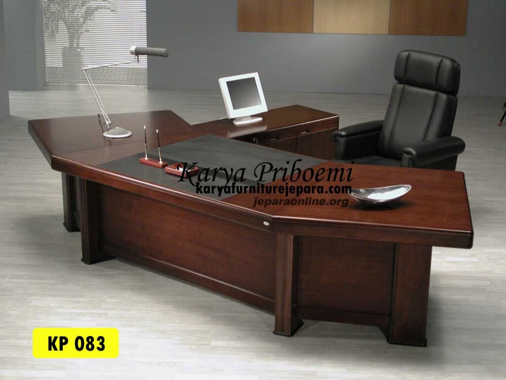 Meja Kantor Presiden Jati Jepara