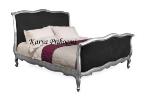 Tempat Tidur Mawar Ulir