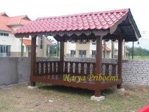 Gazebo Atap Genteng