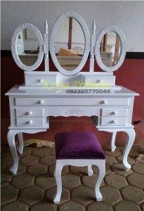 Meja Rias Cantik Duco Putih