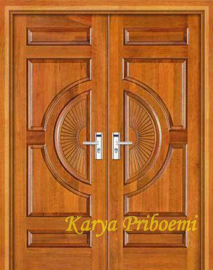 Pintu Utama Kayu Jati