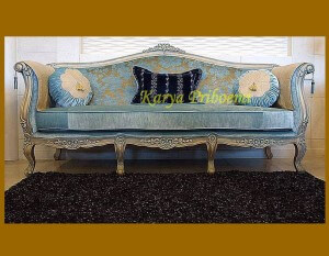 Sofa Mewah Empire Silver