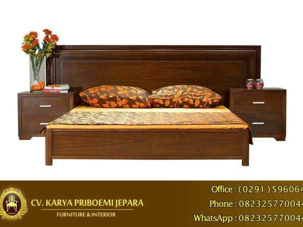 Tempat Tidur Minimalis Modern Jepara