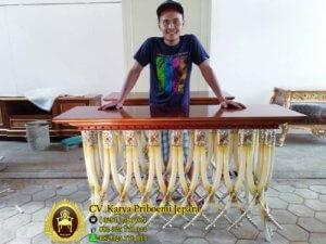Furniture Murah Meja Konsul Gading Duco Klasik