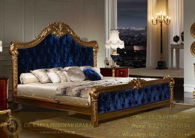 Tempat Tidur Jati Jepara Ukiran Klasik