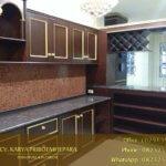 Kitchen Set Kayu Jati Jepara