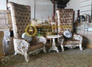 Kursi Sofa Ratu Mewah Ukiran Jepara