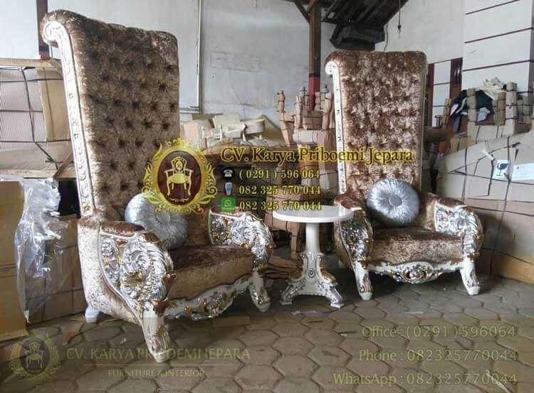 """Cara Memilih Produk Mebel Jati Jepara """"Kursi Sofa Ratu Mewah Ukiran Jepara"""""""