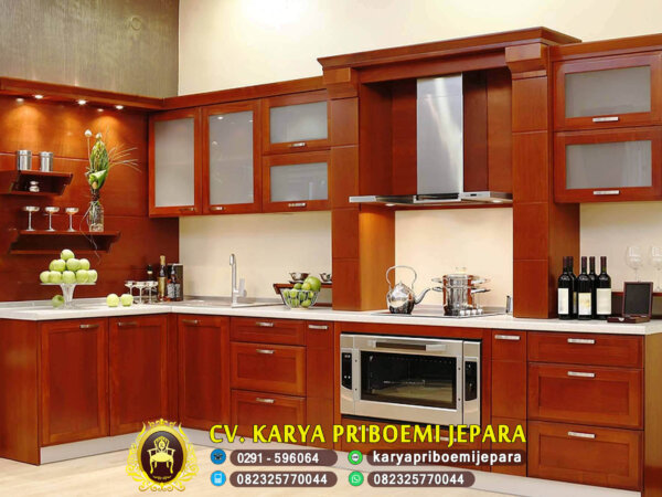 Kitchen Set Minimalis Jati Modern, Kitchen Set Minimalis, Kitchen Set Jati, Kitchen Set Minimalis Modern, Model Kitchen Set Minimalis