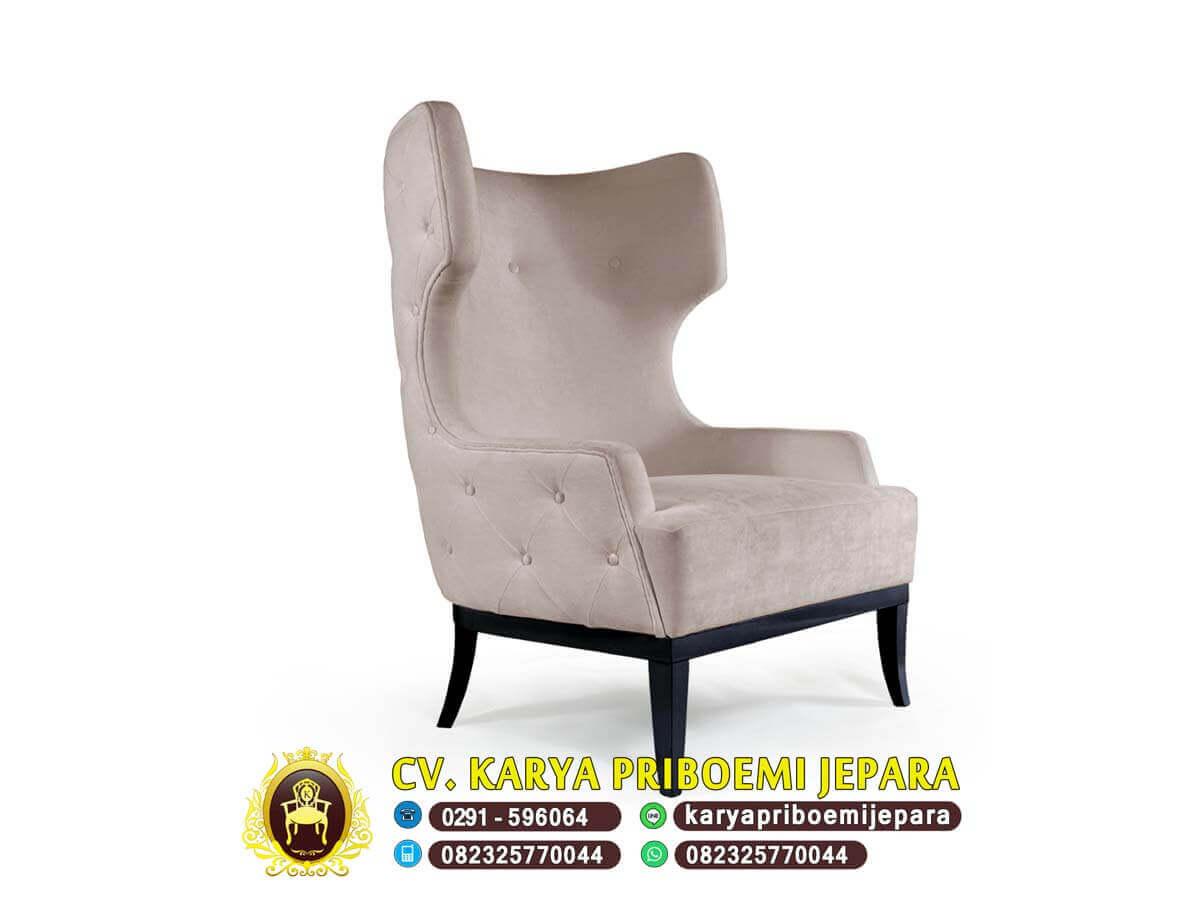 Kursi Wing Chair Jepara