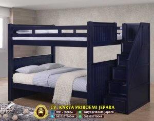 Tempat Tidur Tingkat Kayu Mahoni Terbaru