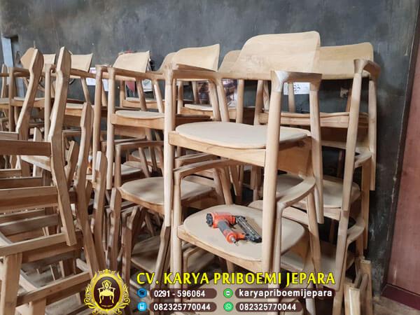 Ready Stock Kursi Cafe Minimalis Hiroshima Unfinishing