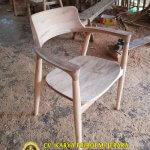 Kursi Cafe Minimalis Jati Terbaru