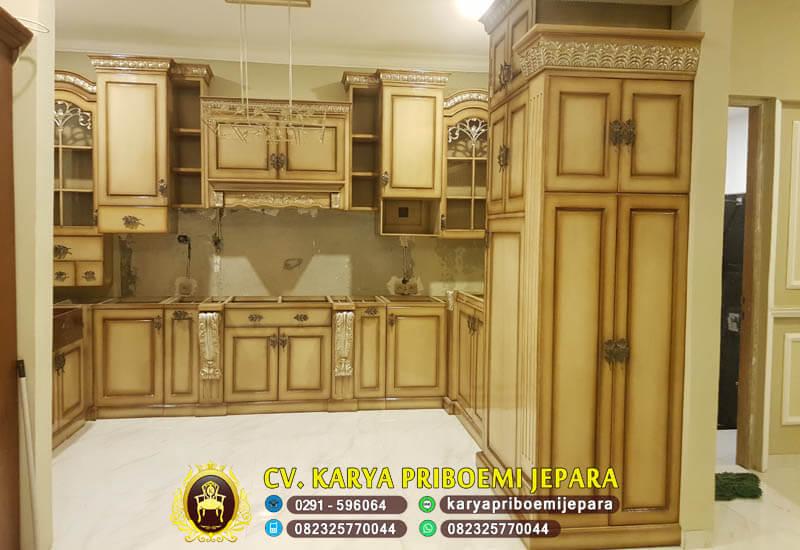 Kitchen Set Mewah Model Klasik Terbaru