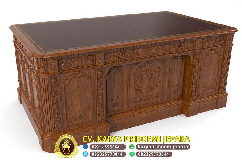 Furniture Mebel Kantor Kayu Jati