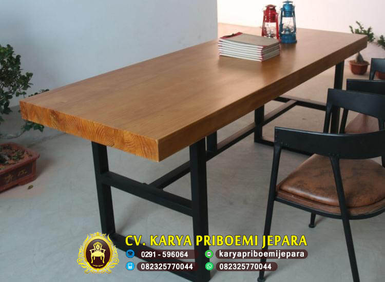 Furniture Mebel Industrial Besi Dan Kayu Jepara Cv Karya