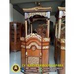 Harga Mimbar Masjid Ukiran Jati Jepara