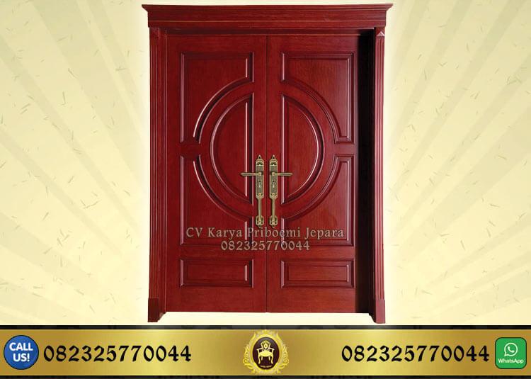 Pintu Rumah Jati Minimalis