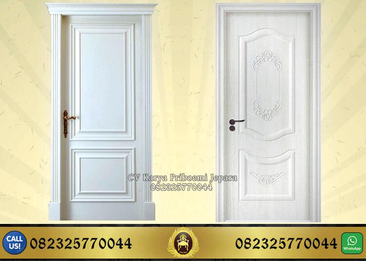 Pintu Rumah Modern Warna Putih