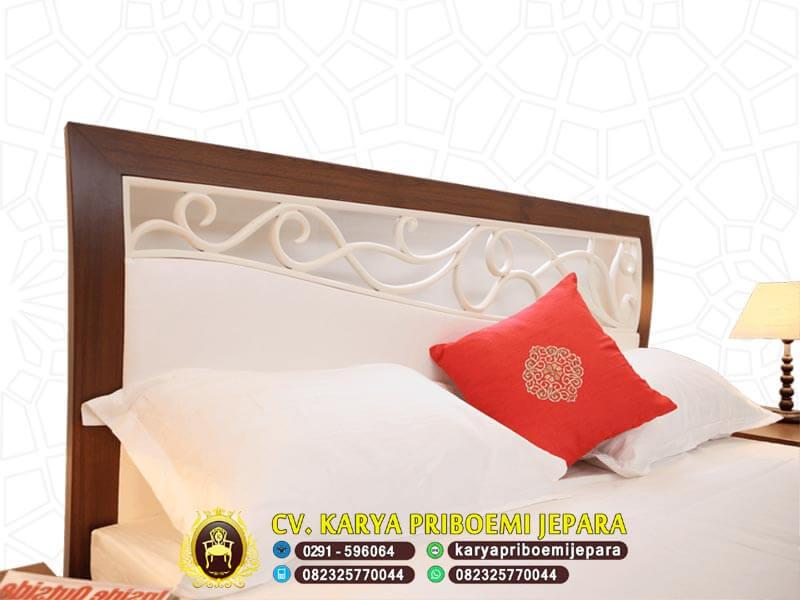 Detail Tempat Tidur Jati Jepara
