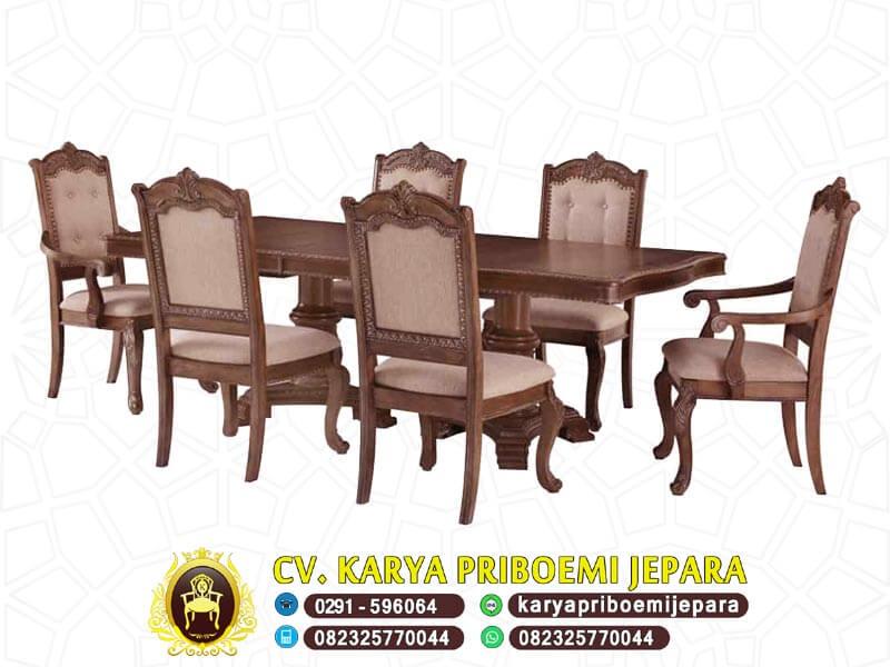 Meja Makan Jepara