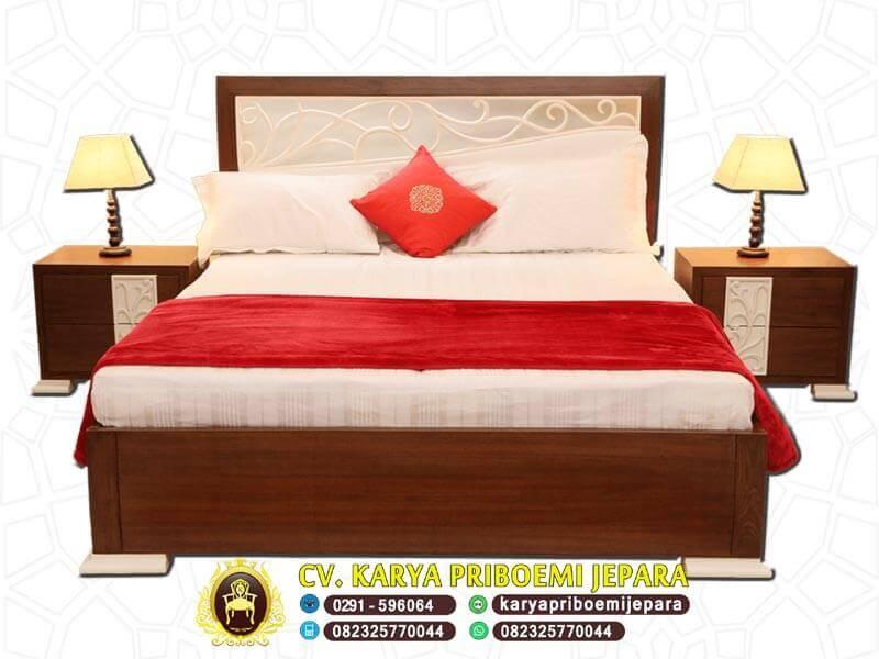 Tempat Tidur Jati Jepara Model Ukir Minimalis Terbaru