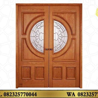 Pintu Utama Kayu Jati Jepara