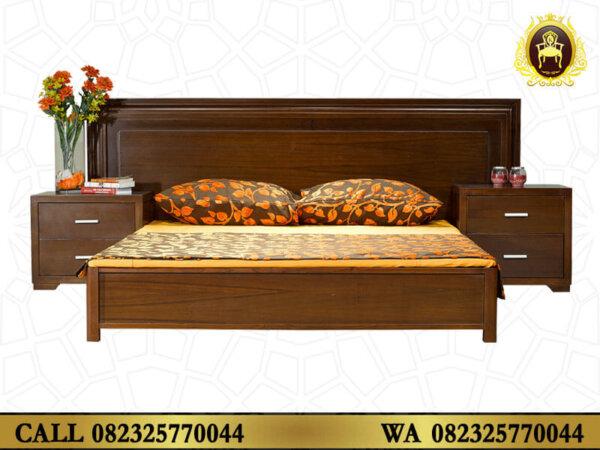 Tempat Tidur Minimalis Modern Jepara Kayu Jati