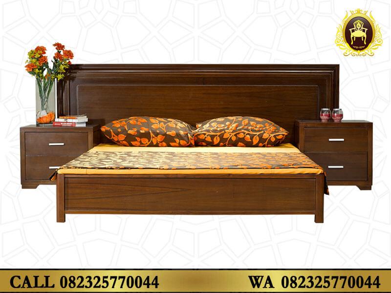 Tempat Tidur Minimalis Modern Jepara Kayu Jati - Karya ...