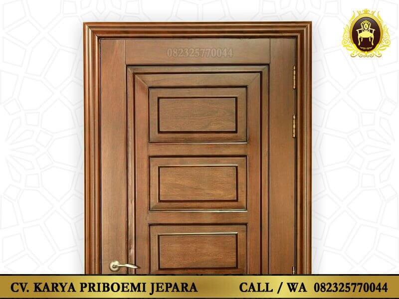 Pintu Kayu Jati Jepara Minimalis