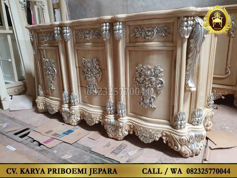 Meja Laci Mewah Model Klasik Eropa