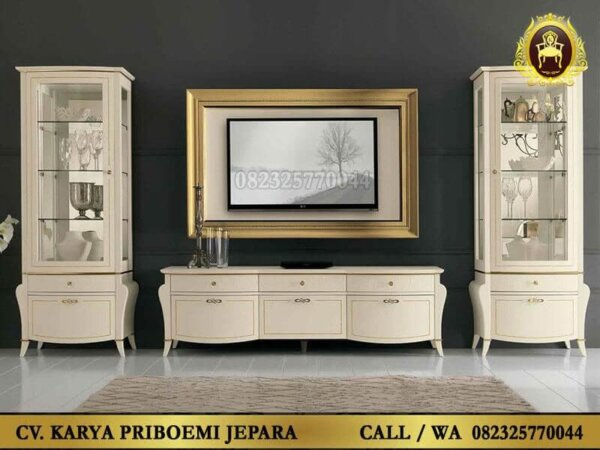 Set Bufet Tv Liberty Warna Putih