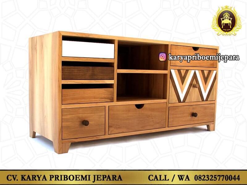 Bufet Tv Minimalis Mid Century Furniture Jepara