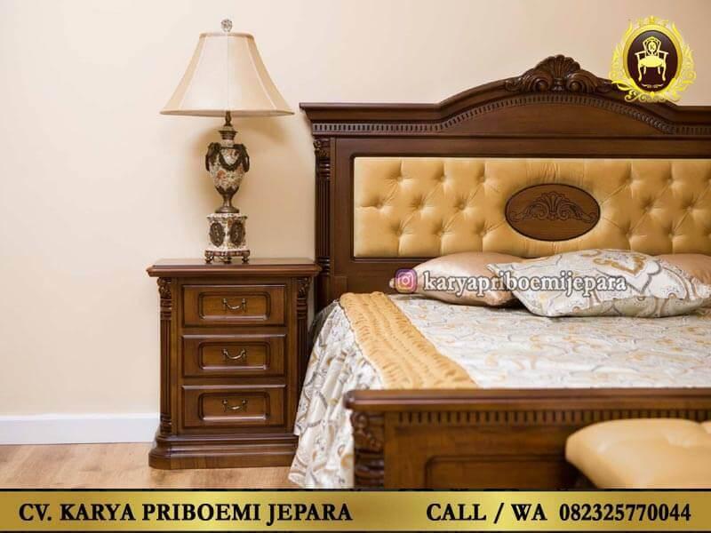 Kamar Set Jati Jepara Detail Tempat Tidur
