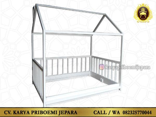 Tempat Tidur Anak Model Rumah Minimalis