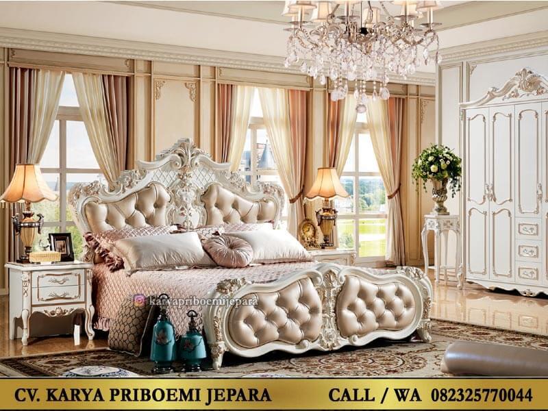 Set Kamar Mewah Elegan Versailles Ukir Jepara Klasik