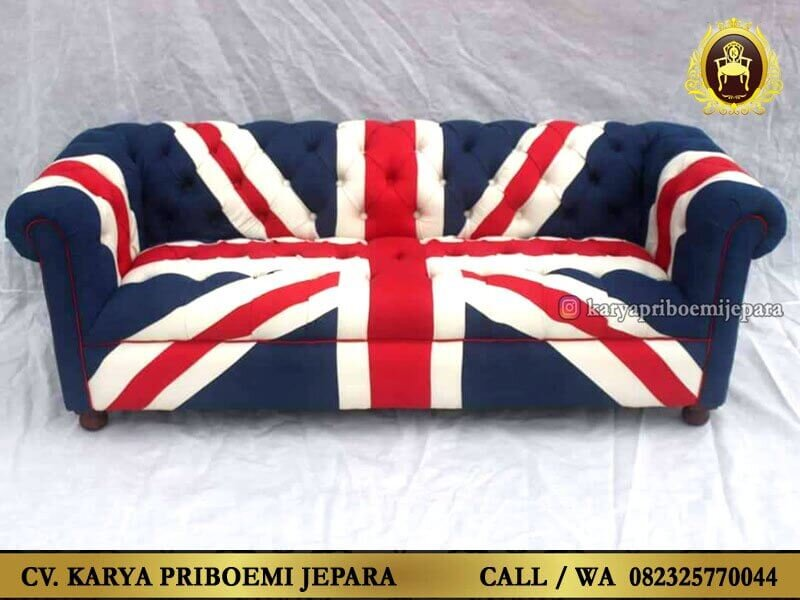 Sofa Inggris Union Jack